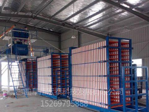 点击查看详细信息<br>标题:全自动轻质保温墙板生产线 阅读次数:1433