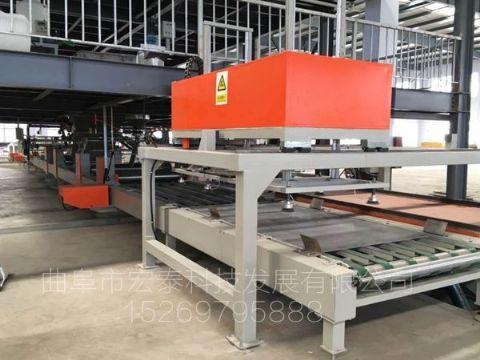 点击查看详细信息<br>标题:集装箱地板生产线 阅读次数:570